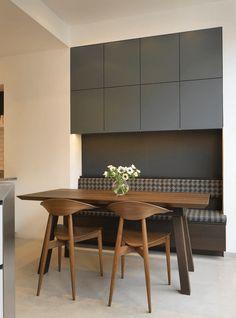 Kitchen Nook With Storage - Create a breakfast nook with storage