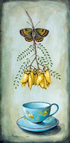 Original art for sale - by Symbolist Artist Santie Cronje