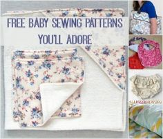 50 Free Baby Sewing Patterns You'll Adore + New Baby Sewing Patterns | AllFreeSewing.com