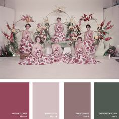 1955 | 16 Beautiful Color Palettes Inspired By Retro Fashion