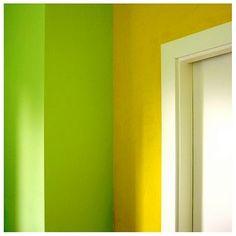 Green And Yellow Walls
