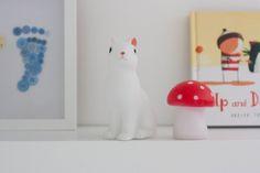 Rainbow Crafty Nursery Woodland Toadstool Rabbit Lights