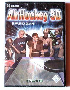 Air Hockey 3D Shufflepuck Champs für PC in OVP!Neu!
