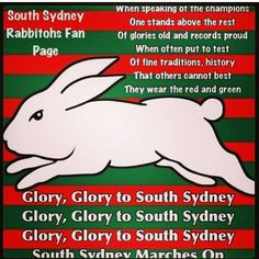 100 South Sydney Rabbitohs Ideas Rugby League Sydney Nrl
