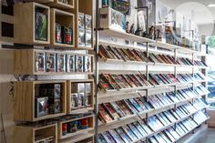 Custom, Storage boxes, Raw wood and metal, Comic book store, Gaming place