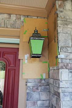 1000 ideas about front porch lights on pinterest porch for Exterior mural painting techniques