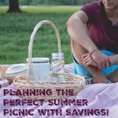How to have the perfect picnic this summer.
