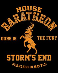 OURS IS THE FURY T-Shirt $12 Game of Thrones tee at Once Upon a Tee!
