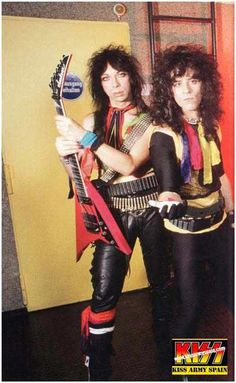 Vinnie Vincent And The Late Eric Carr - 1983