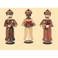 "Krippenfiguren ""Heilige 3 Könige"" aus Holz"