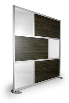 6' Screen with Translucent and Wood Laminate panels