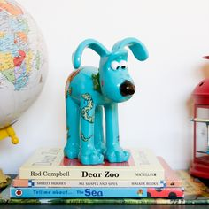 Oh help! It's The Gruffalo Gromit! Down in the deep dark wood, something is lurking…Something huge, with four paws and a tail…But never fear, because thi Big Girl Toys, Girls Toys, Shirley Hughes, Axel Scheffler, Dear Zoo, The Gruffalo, Dark Wood, Piggy Bank, Scary