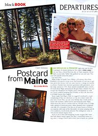 Postcard from Maine