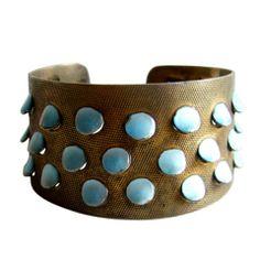 GRETE PRYTZ KITTELSEN for Tostrup Enamel Cuff Bracelet