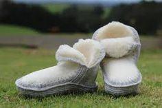 crochet slippers with sheepskin sole - Google Search