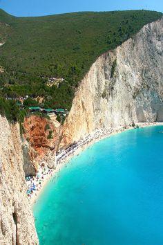 Porto Katsiki beach in Lefkada, Greece -One of the  Best beaches in Europe.