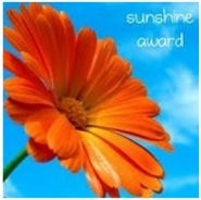 The Sunshine Award ~ Someone thought I had a cheery disposition~
