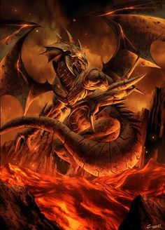 Okeneuth, mythical creature illustration