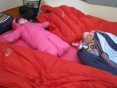Camping with babies and young toddlers - loads of hints and tips for nightime sleeping including links to other sites and resources