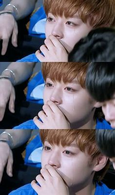 Park Jihoon tears