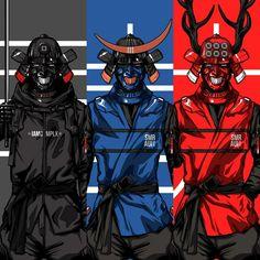 Cyberpunk Character, Cyberpunk Art, Character Concept, Character Art, Concept Art, Futuristic Samurai, Urban Samurai, Ronin Samurai, Samurai Wallpaper