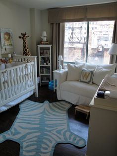 How to make use of a small space for a nursery!
