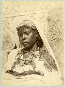 Woman from the south of Algeria