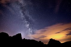 Breathtaking images show Milky Way over Dartmoor
