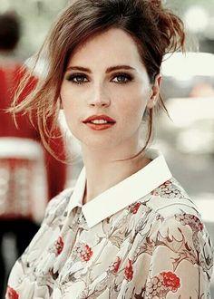 Felicity Jones as Hermione Granger