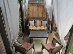 DIY Side patio