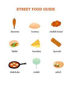 Israel Street Food Guide