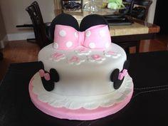 Minnie mouse cake- pastel de mimi