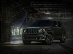 This new Jeep Renegade 'Dawn of Justice' Special Edition brings Batman and Superman to your commute. Unlike its promotion in Star Wars, though, this one involves a movie where cars actually exist.