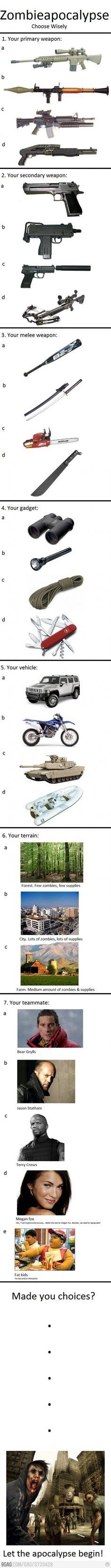 Armas militares mais comuns nas áreas de ocupação do exercito.