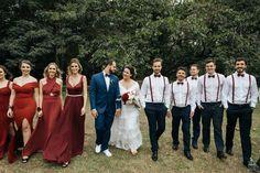 Rustic Groomsmen Attire, Groomsmen Grey, Bridesmaids And Groomsmen, Wedding Bridesmaid Dresses, Wedding Groom, Wedding Suits, Wedding Goals, Dream Wedding, Christmas Wedding Themes