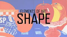 a collaboration with KQED Art School to explore one of the seven elements of visual art — shape — and suggest ways to apply the ideas to images and articles found in The New York Times. Middle School Art, Art School, High School, Visual Elements Of Art, Arte Elemental, Art Basics, Ecole Art, Art Curriculum, Principles Of Art