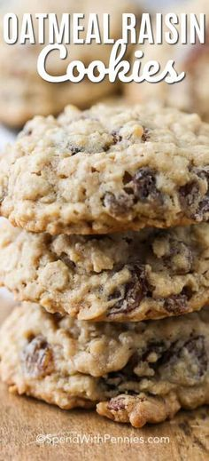 43504f4bcca A plate of soft chewy oatmeal raisin cookies is the perfect snack with a  tall glass