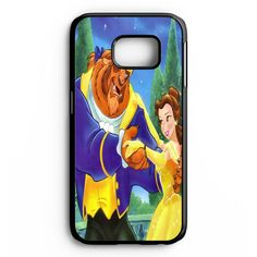 Disney Princess Belle Dancing With The Beast Samsung Galaxy S6 Edge Plus Case