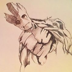 I Am Groot | Blue Crayon
