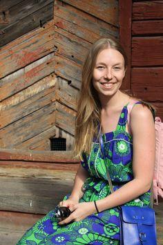 Playsuit: Marimekko, Backpack: Fjällräven Marimekko, Playsuit, Dress Up, Colours, Backpacks, Outfits, Overalls, Jumpsuit, Suits
