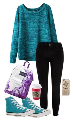 """Weekend!!!!!"" by zorro2003 ❤ liked on Polyvore featuring Chicnova Fashion, River Island, Converse, JanSport and Casetify"