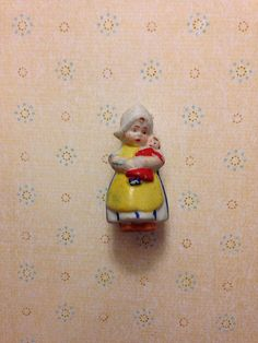 Vintage Bisque Teeny tiny Doll on Etsy, $18.00