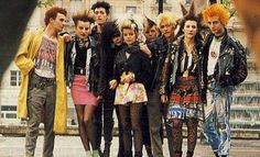 Portraits of…French Punk Culture From The 80′s -