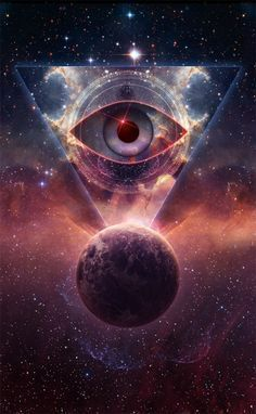 Eye tattoo pyramid illuminati 63 ideas for 2019 Eyes Wallpaper, Galaxy Wallpaper, Wallpaper Backgrounds, Iphone Wallpaper, Wallpapers, Art Galaxie, Arte Pink Floyd, Galaxy Art, Psychedelic Art