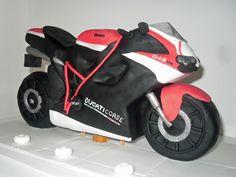 Ducati Corse 848 Cake byThe Coloured Bubble Cakery - Find us on Facebook!!