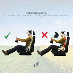 #ErgonomicDriving, do you really need that? Whether it is your daily #commute or the extended #RoadTrip, by the end of the average week you have accumulated a lot of time behind the wheel of the #vehicle. A good #ergonomic setup can go a long way to enhancing both the comfort and effectiveness of your driving.