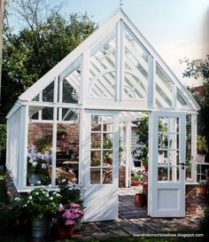 The 10 Best greenhouse ideas Homemade Greenhouse, Outdoor Greenhouse, Best Greenhouse, Greenhouse Wedding, Greenhouse Plans, Greenhouse Gardening, Outdoor Gardens, Window Greenhouse, Greenhouse Growing