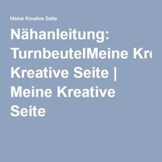 Nähanleitung: TurnbeutelMeine Kreative Seite | Meine Kreative Seite