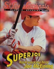 Super Joe McEwing! I totally have this mag somewhere in my childhood bedroom