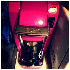 Pink Keurig Coffee Maker My Favorite Color : Hot Pink Keurig Coffee Maker